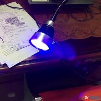 Đèn UV kẹp bàn
