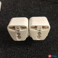 Đầu nối ổ điện 3 chấu ra 2 vô cùng tiện lợi (2 cái)